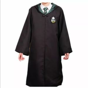Slytherin Harry Potter robe cloak
